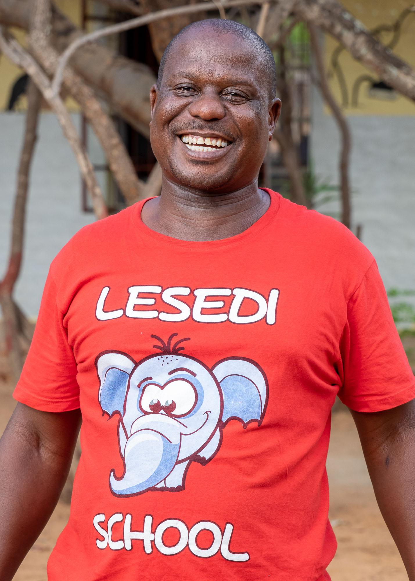 Sipho Ndlovu - Teacher In Charge and Grade 3 teacher