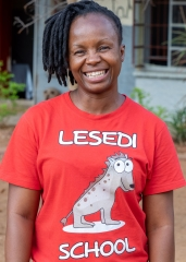 Yunah Sibanda - Senior Teacher and ICT teacher for all Grades